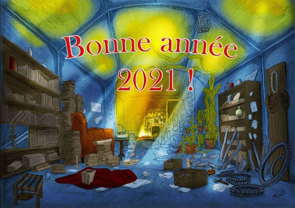 carte de voeu 2021