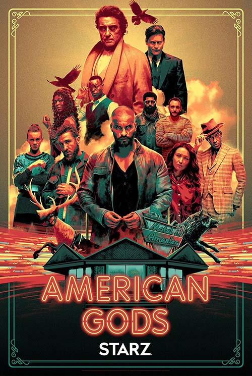 american gods série