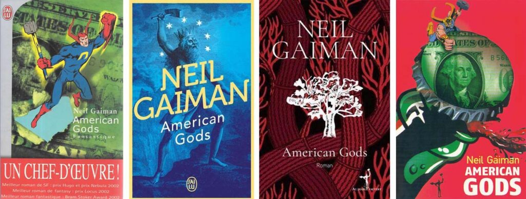 couvertures american gods